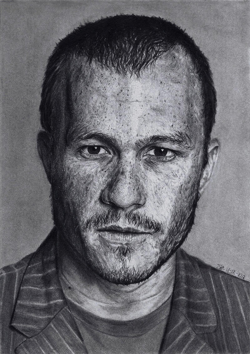 Heath Ledger by ISG-Art