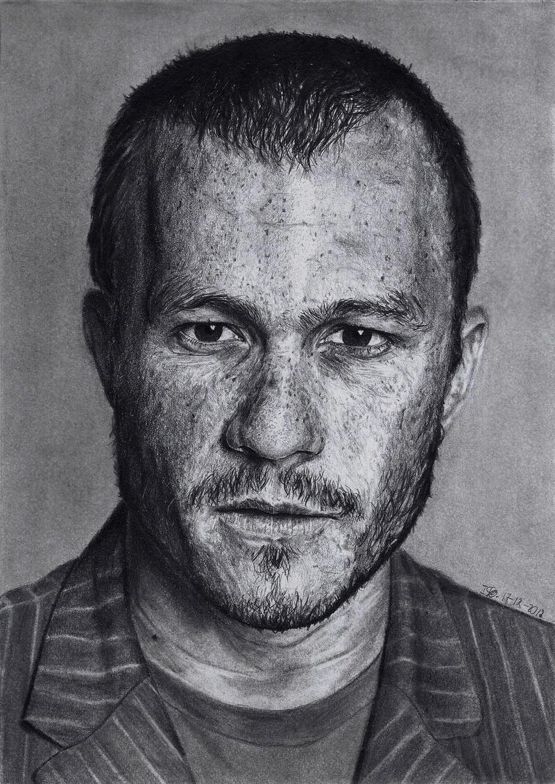 Heath Ledger by ISG-Art