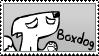 Boxdog - Stamp by NessStar3000