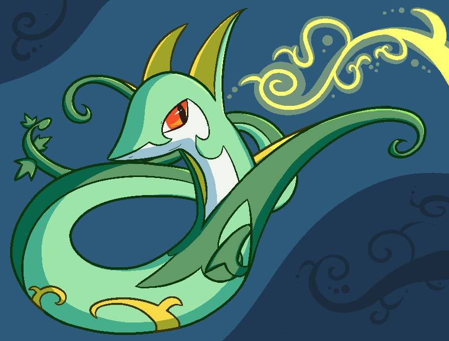 Serperior by NessStar3000 on DeviantArt