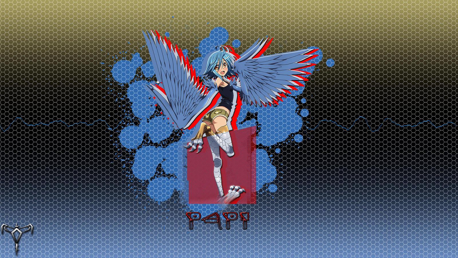Monster Musume No Iru Nichijou Papi Wallpaper By Mortred039ex On