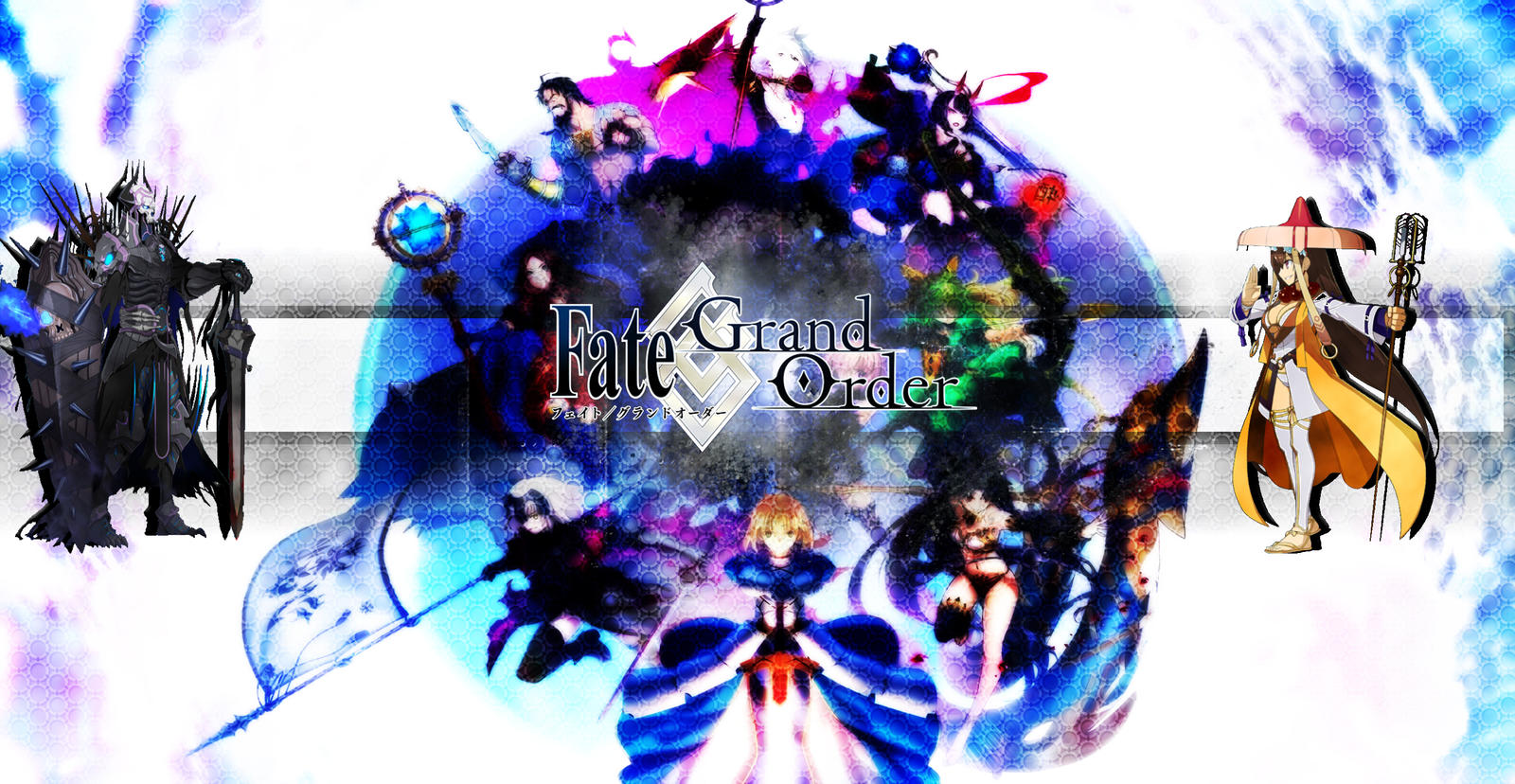 Fate Grand Order Wallpaper Title By Mortred039ex On Deviantart