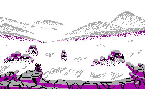 Pride Month Pixel Landscape