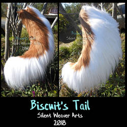 Biscuit .:Tail commission:. by MortaleRedWolf