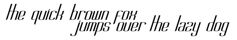 Abode Typeface by Igluetronics