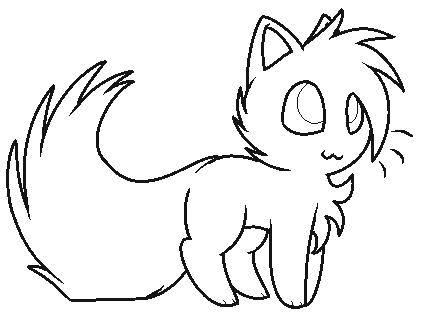 kitten base by luunan on deviantart
