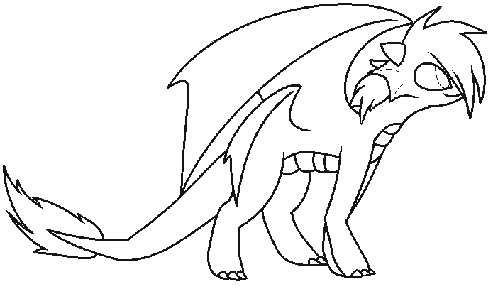 Dragon base by Luunan on DeviantArt