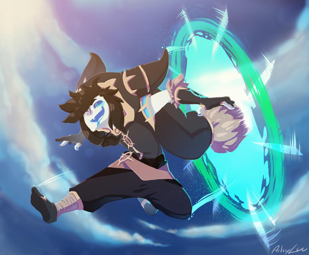 Portal Jumps by Luunan