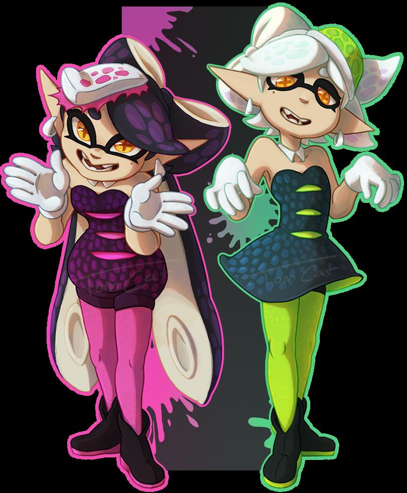 Squid Sisters by Luunan