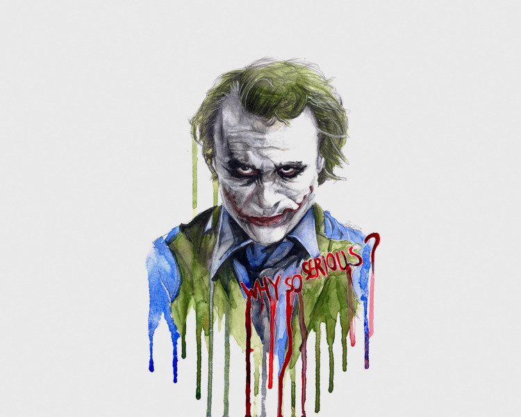 Why So Serious by ZZeeEE on DeviantArt