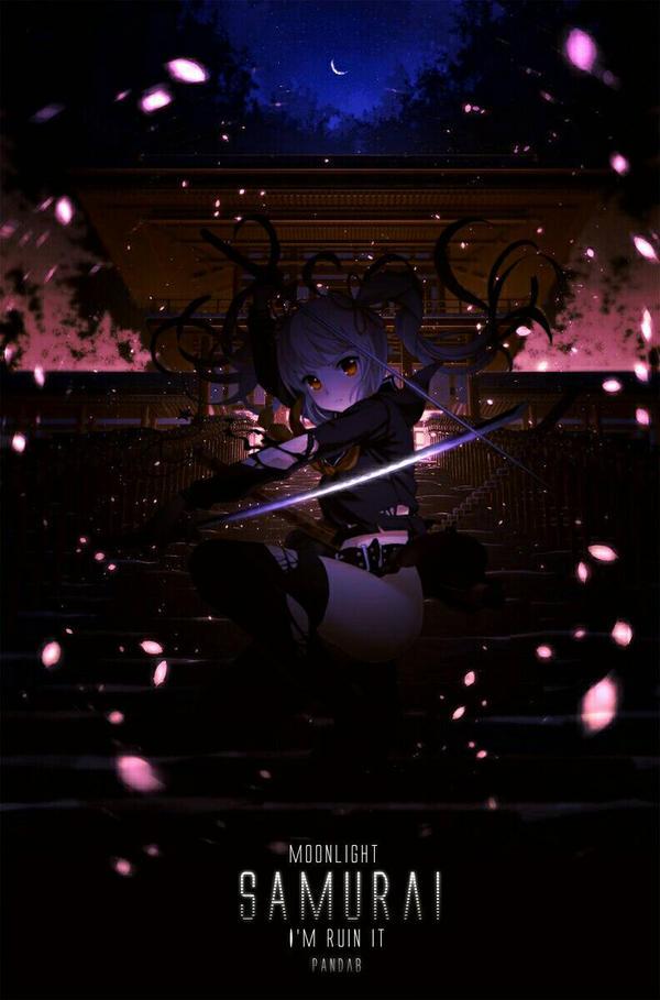 Moonlight Samurai by mikaelays