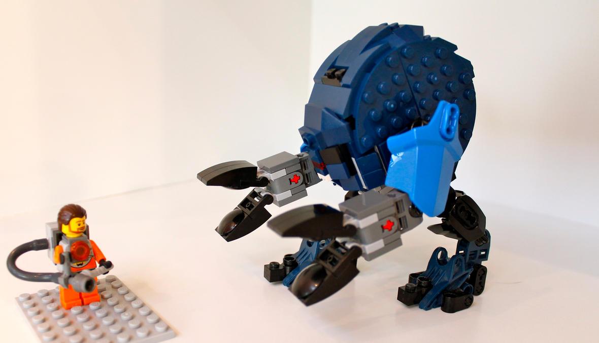 Lego Half Life Gargantua By NeweRegion On DeviantArt