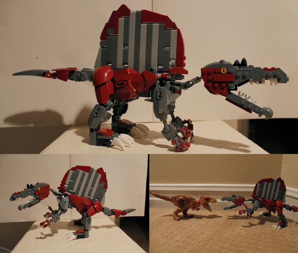 Lego spinosaurus aegyptiacus by neweregion on deviantart - Lego dinosaurs spinosaurus ...