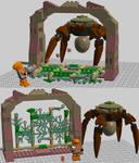 Lego Digital Designer Half-Life Set - The Gonarch