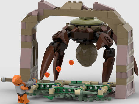 Lego HL The Gonarch Studio Render