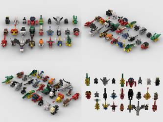 Lego Universe Pets Studio Renders