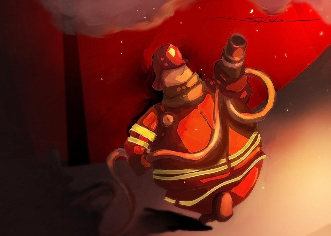Fireball by ironbacteria
