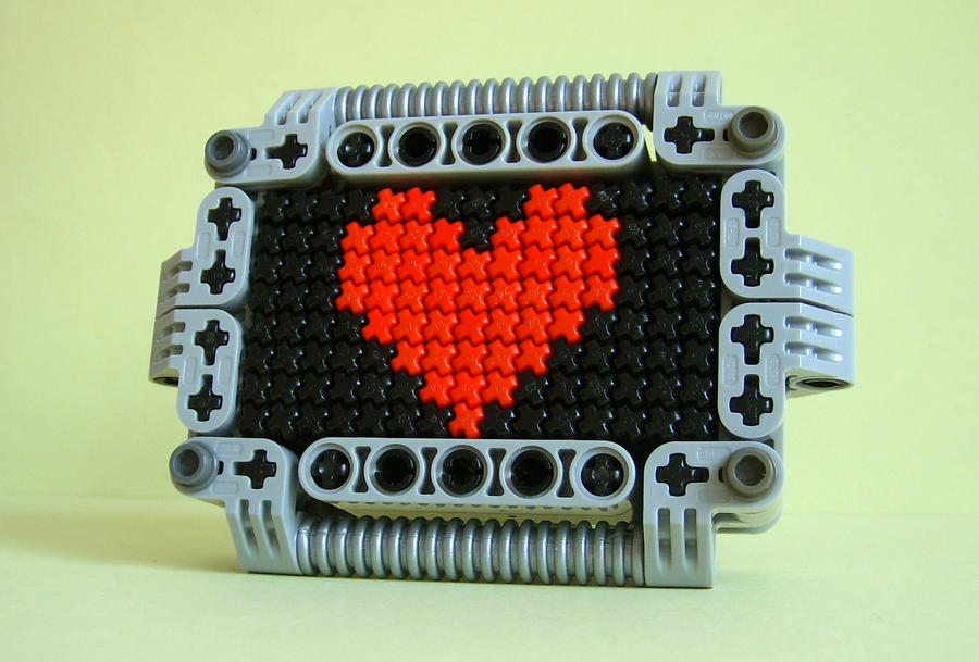 Heart Mosaic by Sparkytron