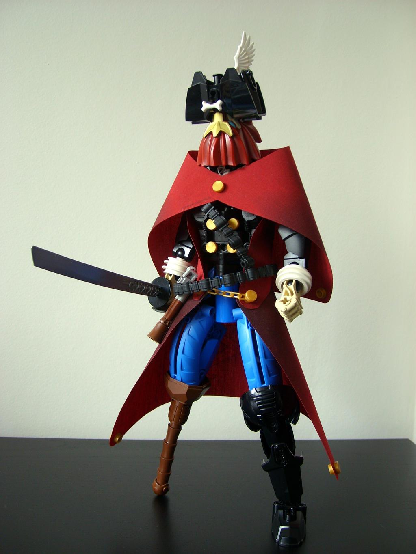 Captain Redbeard Blindeye by Sparkytron