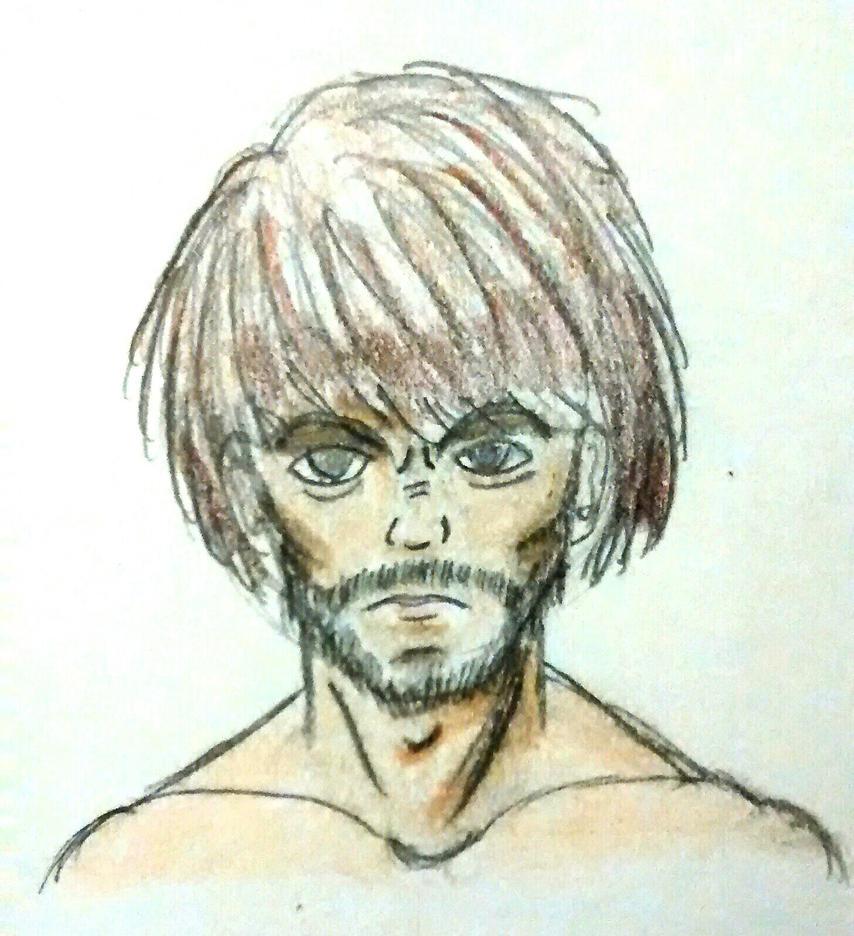 Angry face by Shokai