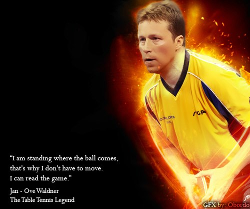 Jan-Ove Waldner Quote