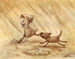 Rain by Eenuh