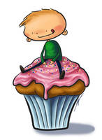 Cupcake by Eenuh