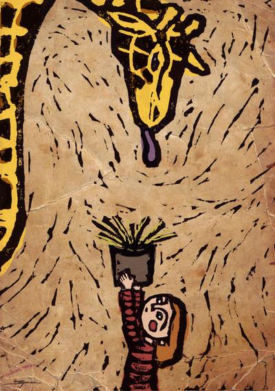 Feeding Giraffes Is Hard by Eenuh