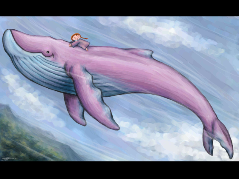 Ride the Whale by Eenuh