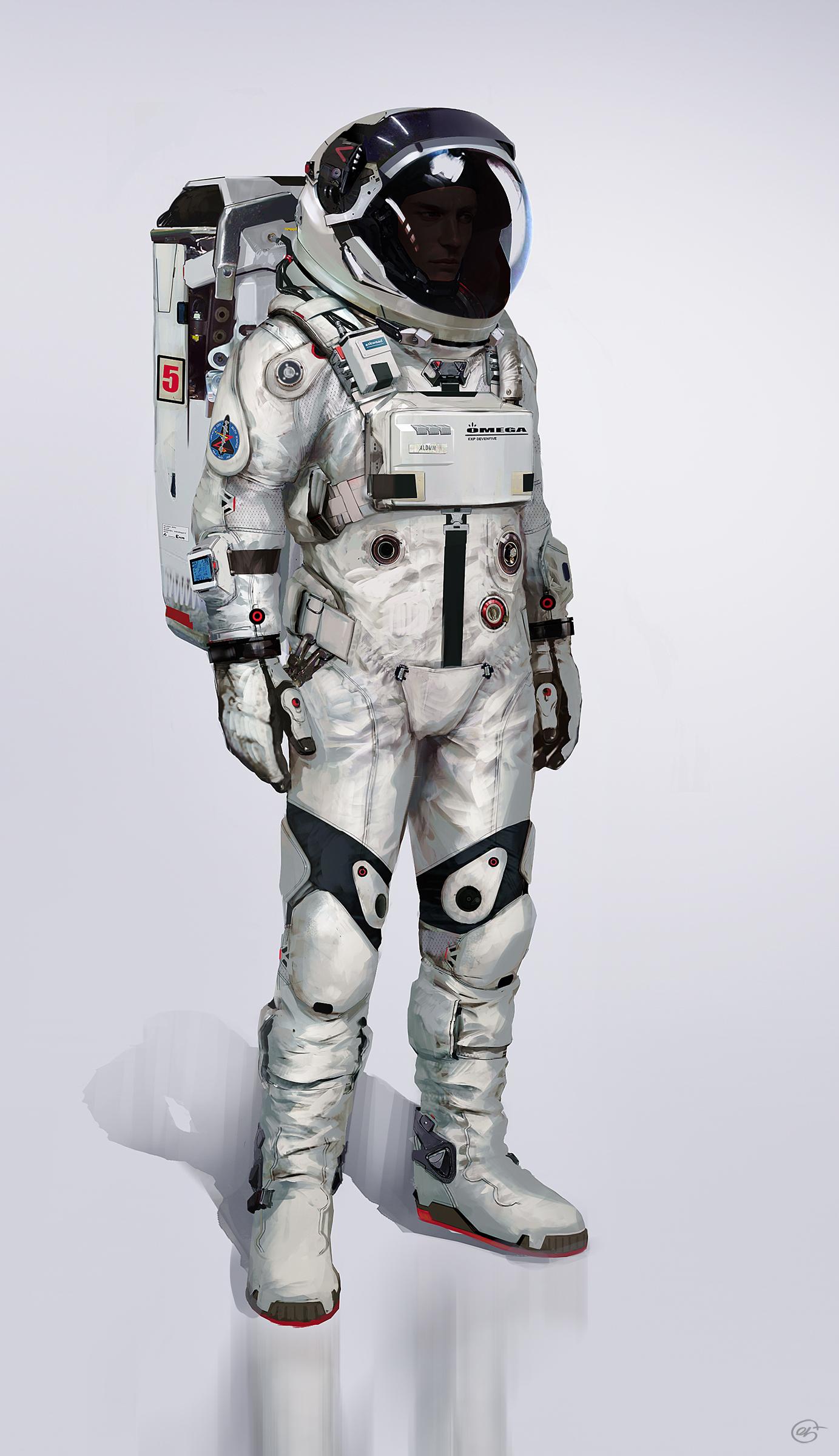 astronaut in suit - 736×1310