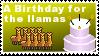 A Birthday for the llamas by IgorBird122