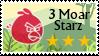 3 Moar Starz stamp by IgorBird122