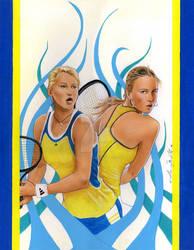 Tennis by AlexBuechel