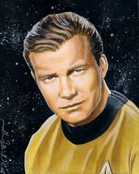 William Shatner AKA James T. K by AlexBuechel