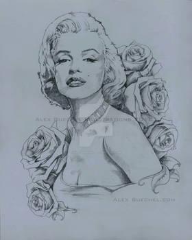 Marilyn Monroe Painting Base