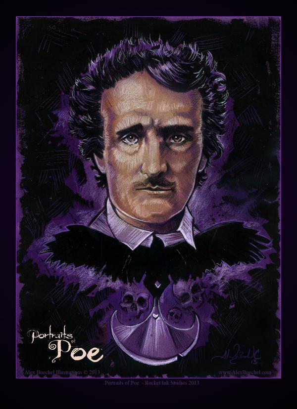 Edgar Allan Poe by AlexBuechel