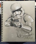 First Order Storm Trooper Sketch