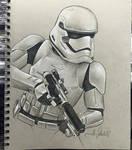 First Order Stormtrooper Sketch