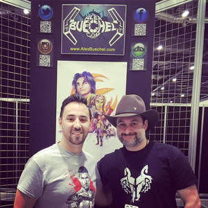 Dave Filoni and I at SWCE 2016