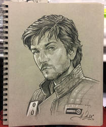 Cassian Andor - Star Wars Sketch