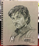 Cassian Andor - Star Wars Sketch