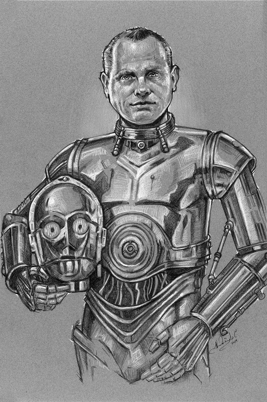 Mark - as C3PO