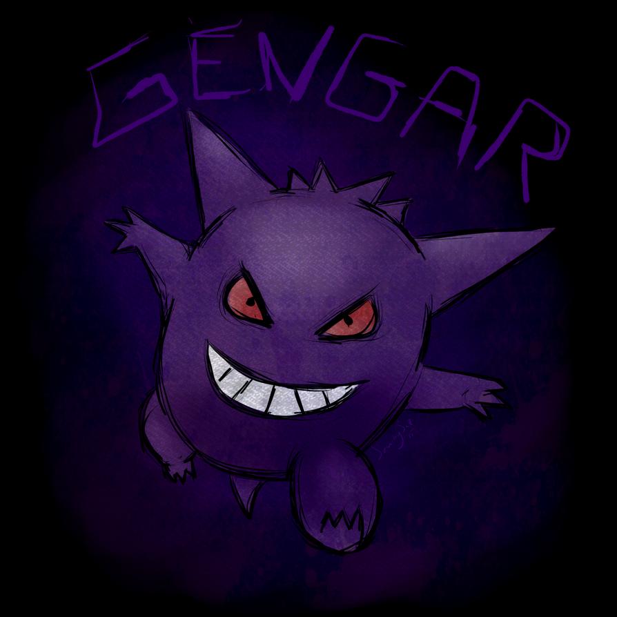 Gengar by SerenitySaz