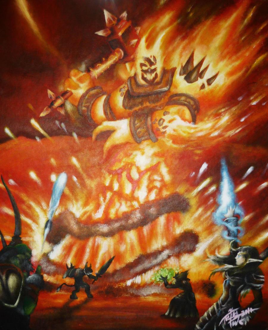 ragnaros the firelord wallpaper - photo #28