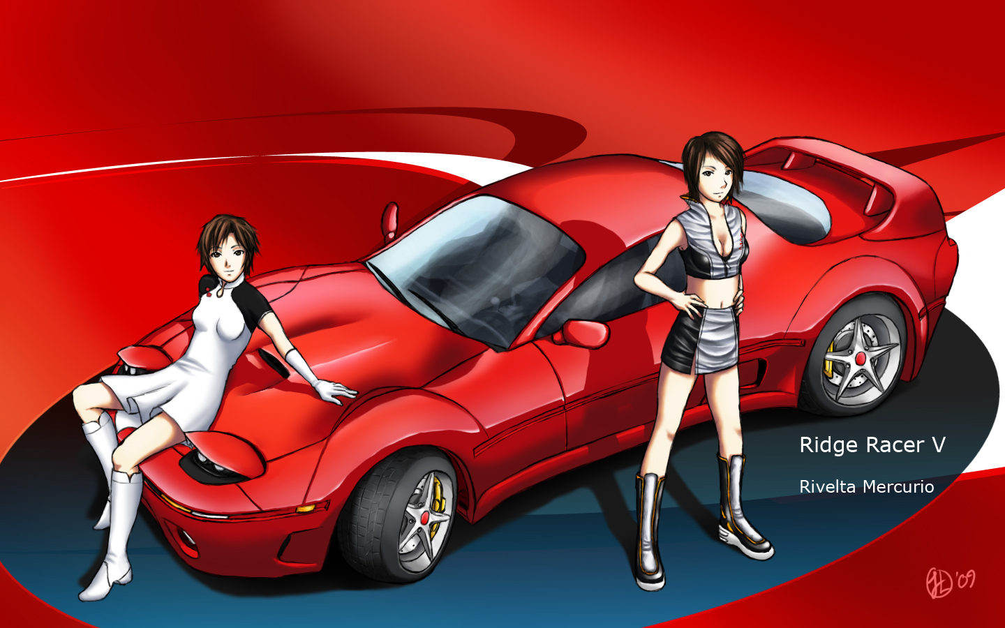 Ridge Racer V-Rivelta Mercurio by Shaw-exe