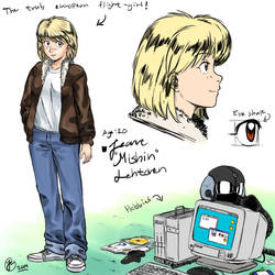 OC introduction: Jeanne