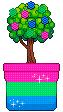 Polysexual-Polyromantic tree :^) by PhilipInTheBathroom
