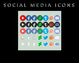 [F2U] Social media Icons pack by M-ukki
