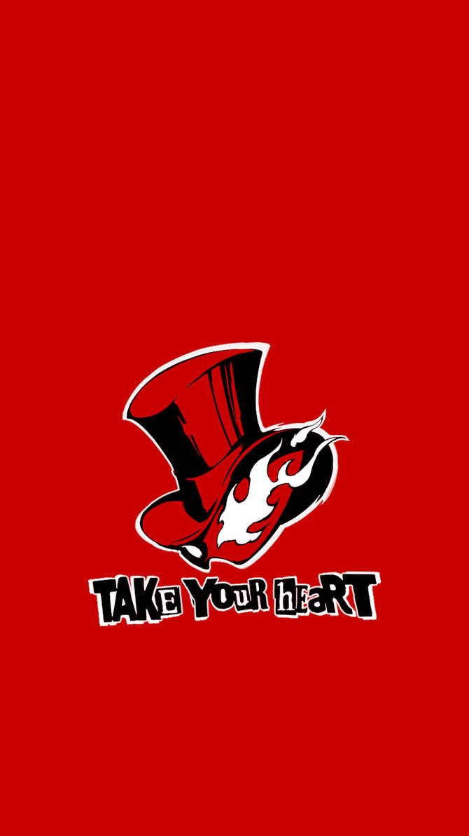 Persona 5 Take Your Heart Iphone Wallpaper By Witsawat33 On