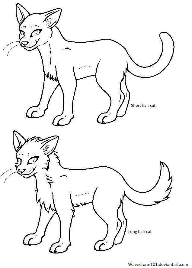 One Line Text Art Cat : Cat line arts ms paint friendly by wavestorm on